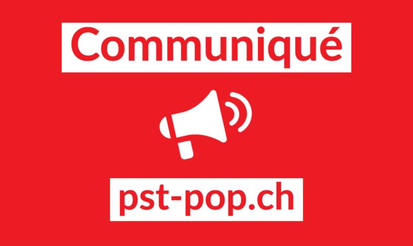 Deux propositions fortes du Parti Suisse du Travail – Parti Ouvrier et Populaire (PST-POP) déposées au Parlement fédéral