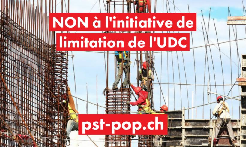 L'initiative de l'UDC n'est pas la solution pour les travailleurs et les travailleuses