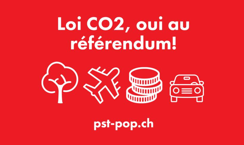 Pour une écologie populaire – Le PST-POP soutient le référendum sur la loi CO2