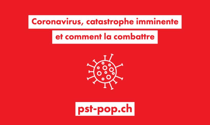 Coronavirus, catastrophe imminente et comment la combattre