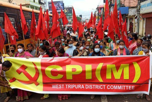 Solidarité avec le parti communiste de l'Inde